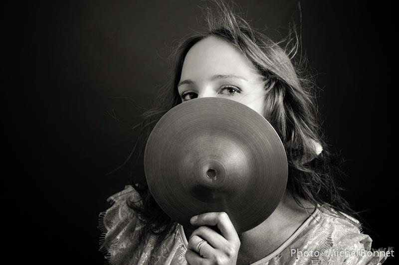 Déborah Tropez cymbale